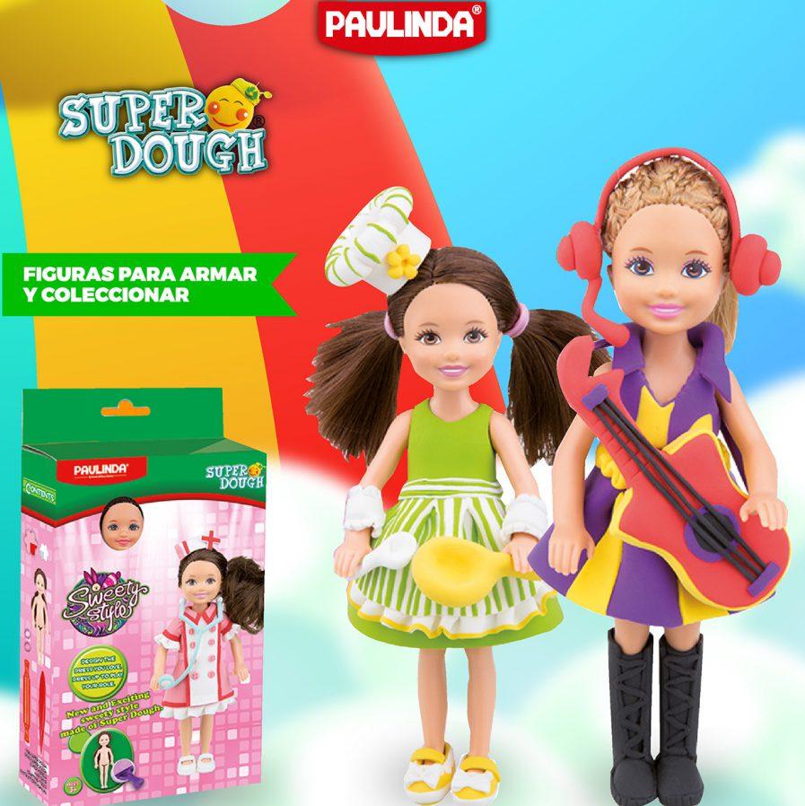 Super dough muñecas